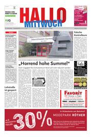 Hallo MITTWOCH Hameln Ausgabe 003