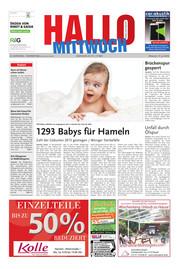 Hallo MITTWOCH Hameln Ausgabe 028