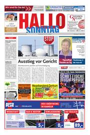 Hallo zum SONNTAG Hameln Ausgabe 010