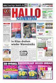 Hallo zum SONNTAG Hameln Ausgabe 013