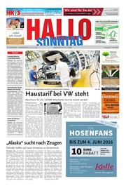 Hallo zum SONNTAG Hameln Ausgabe 020