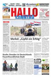 Hallo zum SONNTAG Hameln Ausgabe 021