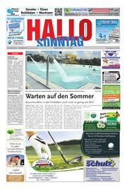 Hallo zum SONNTAG Hameln Ausgabe 027