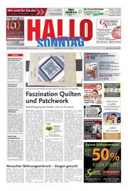 Hallo zum SONNTAG Hameln Ausgabe 029