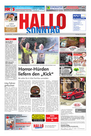 Hallo zum SONNTAG Hameln Ausgabe 030