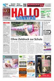 Hallo zum SONNTAG Hameln Ausgabe 031