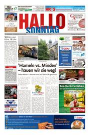 Hallo zum SONNTAG Hameln Ausgabe 036