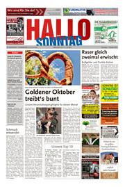 Hallo zum SONNTAG Hameln Ausgabe 039