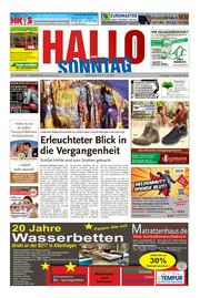 Hallo zum SONNTAG Hameln Ausgabe 044