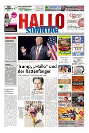 Hallo zum SONNTAG Hameln Ausgabe 045