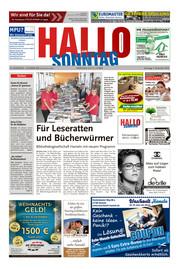 Hallo zum SONNTAG Hameln Ausgabe 048