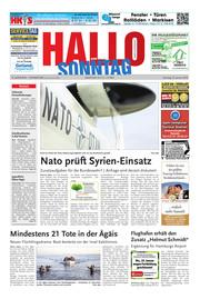 Hallo zum SONNTAG Bad Pyrmont Ausgabe 003