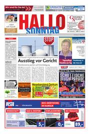 Hallo zum SONNTAG Bad Pyrmont Ausgabe 010