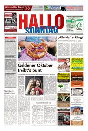 Hallo zum SONNTAG Bad Pyrmont Ausgabe 039