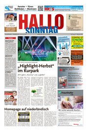 Hallo zum SONNTAG Bad Pyrmont Ausgabe 041