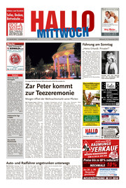 Hallo MITTWOCH Bad Pyrmont Ausgabe 047